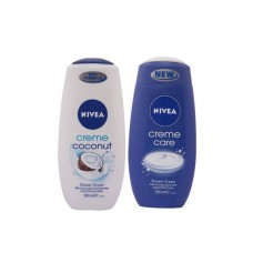 Deals, Discounts & Offers on Health & Personal Care - Nivea Shower Gel - Buy 2 Cream Care get 1 Coconut Cream Shower Gel free