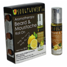 Deals, Discounts & Offers on Health & Personal Care - Soulflower Aromatherapy Beard & Moustache Roll On