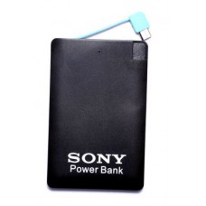 Deals, Discounts & Offers on Power Banks - Flat 70% off on Sony Slim Credit Card Shape Power Bank