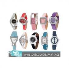Deals, Discounts & Offers on Women - Flat 83% off on Pack of 10  Watches