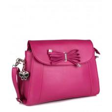 Deals, Discounts & Offers on Women - Flat 50% off on Butterflies Pink P.U. Sling Bag