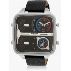 Deals, Discounts & Offers on Men - Upto 50% off on Diesel The Daddie Analog Black  Watch