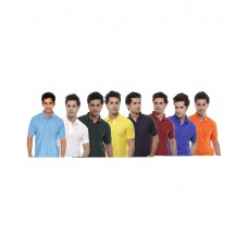 Deals, Discounts & Offers on Men Clothing - Upto 44% off on Kristof Multi Polo T-shirt