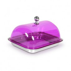 Deals, Discounts & Offers on Home & Kitchen - Bergner Purple Stainless Steel Butter Dish