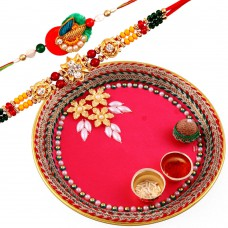 Deals, Discounts & Offers on Home Decor & Festive Needs - Creativity Centre Rakshabandhan Rakhi Tikka Thali