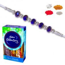 Deals, Discounts & Offers on Home Decor & Festive Needs - Maalpani Thread Rakhi With Chocolate Celebration