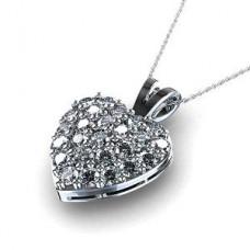 Deals, Discounts & Offers on Women - Facetzinspire  Real Diamond Heart Pendant