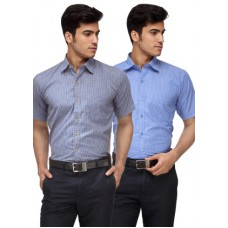 Deals, Discounts & Offers on Men Clothing - Upto 76% off on Rico Sordi  Polyester Formal Shirt