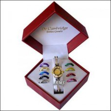 Deals, Discounts & Offers on Home Decor & Festive Needs - Rakhi Gifts exclusive Watch Set With 10 Changeable Dials