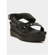 Deals, Discounts & Offers on Women - Flat 30% off on Carlton London  Black Sandals