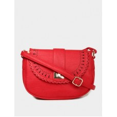 Deals, Discounts & Offers on Women - Allen Solly  Red Sling Bag