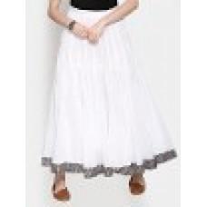 Deals, Discounts & Offers on Women Clothing - Upto 30% off on Biba  Aurovill White Maxi Skirt