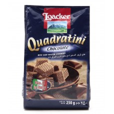 Deals, Discounts & Offers on Food and Health - Loacker Quadratini Waffers Dark Chocolate