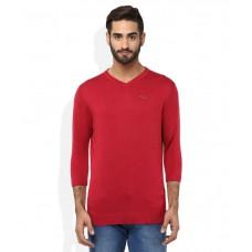 Deals, Discounts & Offers on Men Clothing - Spykar Red T-Shirt