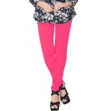 AskMeBazaar Offers and Deals Online - JV Wears Glow Rose Stretchable Cotton Elastane Leggings
