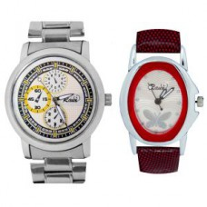Deals, Discounts & Offers on Men - Flat 58% off on Raux  Dial Analog Watches