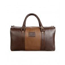 Deals, Discounts & Offers on Accessories - The Clownfish Brown 18 inch Duffle Luggage Bag
