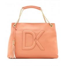 Deals, Discounts & Offers on Accessories - Diana Korr Pink Puff P.U. Shoulder Bag