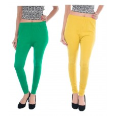 Deals, Discounts & Offers on Women Clothing - MAT Originals Multicoloured Cotton Lycra Leggings