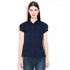 Deals, Discounts & Offers on Women Clothing - Wrangler Navy Solids Shirt
