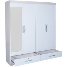 Deals, Discounts & Offers on Furniture - HomeTown Apollo Engineered Wood Free Standing Wardrobe