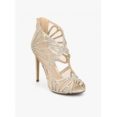 Deals, Discounts & Offers on Women - Flat 50% off on Golden Embellished Stilettos