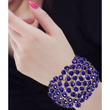 Deals, Discounts & Offers on Women - Renaissance Traders Alloy Gold Plating Crystal Studded  Bracelet