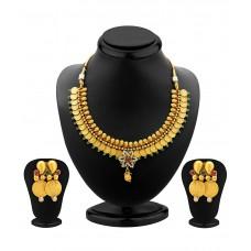 Deals, Discounts & Offers on Women - Sukkhi Enamourous Antique Necklace Set