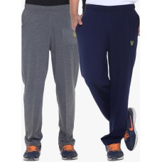 Deals, Discounts & Offers on Men Clothing - Upto 59% off on Pack Of 2  Solid Track Pants