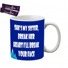 Deals, Discounts & Offers on Home Appliances - Flat 65% off on meSleep My Sister Rakhi Mug