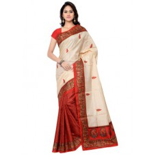 Deals, Discounts & Offers on Women Clothing - Upto 90% off on Florence Bhagalpuri Saree