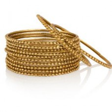 Deals, Discounts & Offers on Women - Flat 80% off on Gold Plated Bangle Set