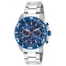 Deals, Discounts & Offers on Men - New Invicta Pro Diver Chronograph Blue Dial Stainless Steel Watch
