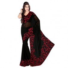 """Deals, Discounts & Offers on Women Clothing - """"Janasya Georgette with haevy work in border"""""""