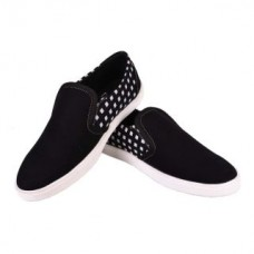 Deals, Discounts & Offers on Foot Wear - Flat 67% off on Tiacoo  Black Casual Slip On Shoes