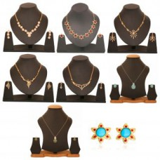 Deals, Discounts & Offers on Women - Touchstone Combo Of Trendy Classic Necklace Set