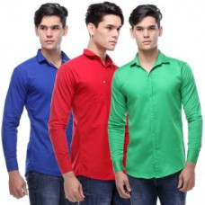 Deals, Discounts & Offers on Men Clothing - Upto 83% off on VSI Casual Shirt
