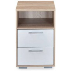 Deals, Discounts & Offers on Home Appliances - Nilkamal Marilyn Engineered Wood Bedside Table