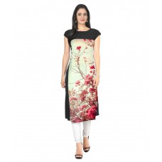 Deals, Discounts & Offers on Women Clothing - Flat 60% off on Ziyaa  Crepe Straight Kurti