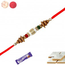Deals, Discounts & Offers on Home Decor & Festive Needs - Siddhi Sales  Stone With Beads Rakhi,