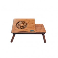 Moglix Offers and Deals Online - DGB Murray Wooden Laptop Table with Cooling Fan