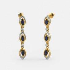 BlueStone Offers and Deals Online - 5% off on The Kayli Drop Earrings