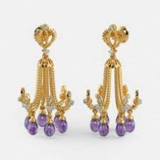 BlueStone Offers and Deals Online - 5% off on The Billie Chandelier Earrings