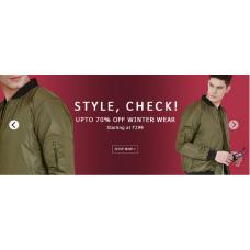 Yepme Offers and Deals Online - Winter wear For Men