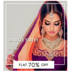 FashionandYou Offers and Deals Online - Flat 70% off on Sparkle Street