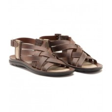 Deals, Discounts & Offers on Foot Wear - Provogue Synthetic Leather Brown Men's Floater Sandals