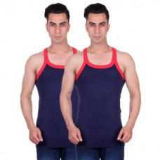 Deals, Discounts & Offers on Men Clothing - Odoky Mens NavyNavy Gym Vest