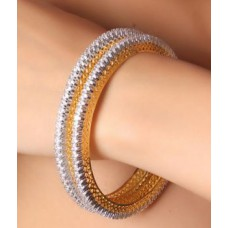 Deals, Discounts & Offers on Women - Flat 53% off on A Cz Guaranted Bangles