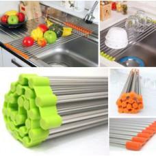 Deals, Discounts & Offers on Home Appliances - Flat 70% off on Sink Rack Roll /stainless Steel Shelf Sink Rack