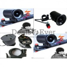 Deals, Discounts & Offers on Car & Bike Accessories - Bike Bicycle Cycling Alarm 6 Sounds Ultra-loud Electronic Horn Bell Ring Siren